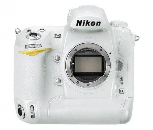 Biała edycja limitowana Nikona D3?