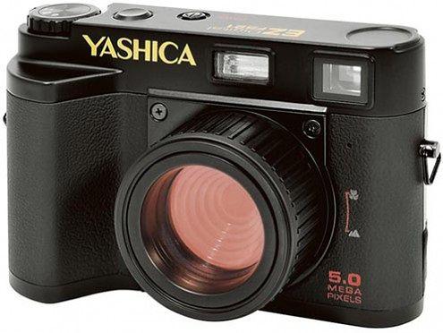 Yashica EZ F521 w stylu retro i lomografii