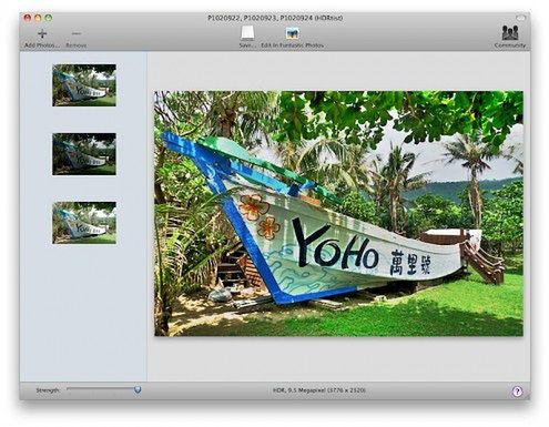 Freeware: HDRtist 1.0 dla Mac OS X