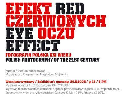 Wystawa - Efekt czerwonych oczu