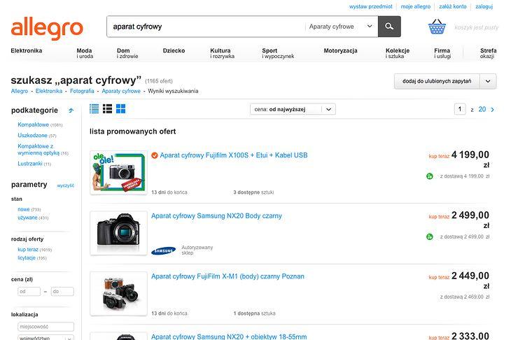Kupujemy Sprzet Fotograficzny Gdzie Szukac Okazji Poradnik Fotoblogia Pl
