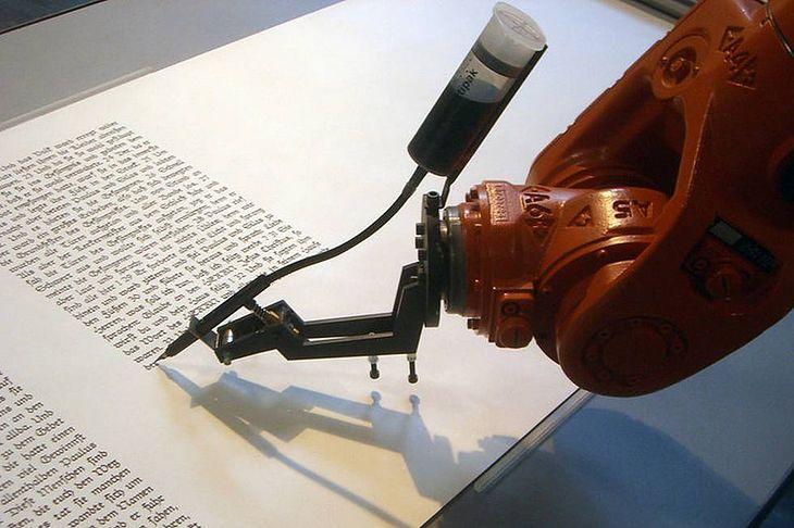 Robot w roli kopisty (Fot. Wikimedia Commons)