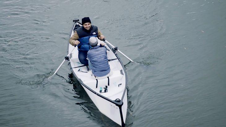 MyCanoe POP. Składana łódka na dwie osoby, która zmieści się nawet pod biurkiem