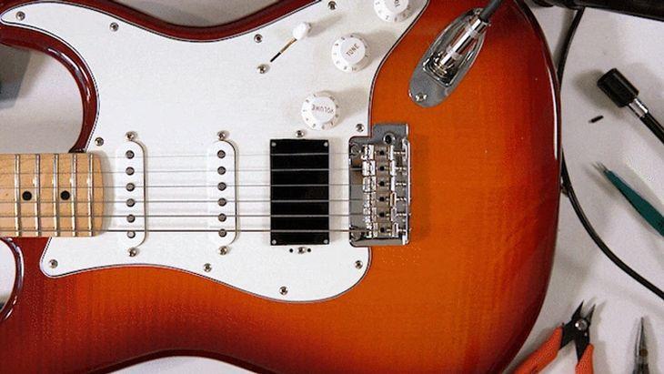 ōPik - zamist prądu, przetwornik gitarowy działa dzięki diodom LED