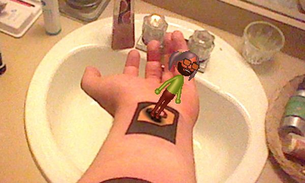 Tatuaż Augmented Reality