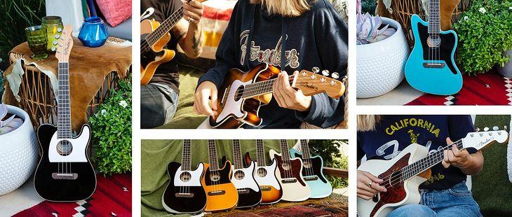 Nowe, hybrydowe ukulele od Fendera