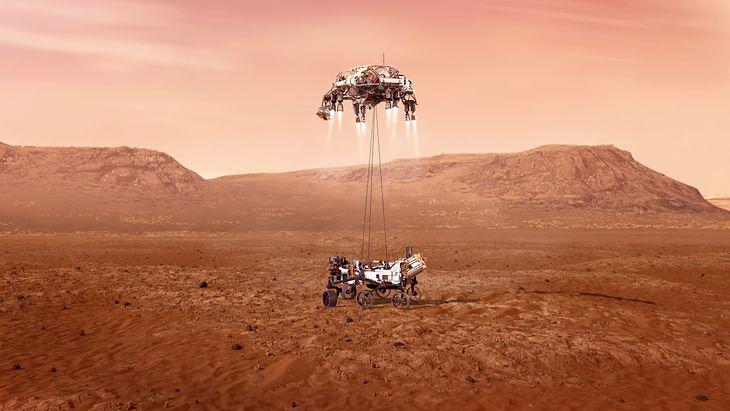 Lądowanie na Marsie to przełomowa misja NASA