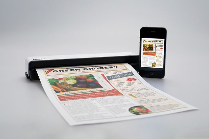 Doxie Go - synchronizacja z iPhonem