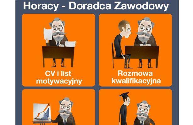 Horacy - wirtualny doradca zawodowy (fot.: Gazeta Praca / Facebook)