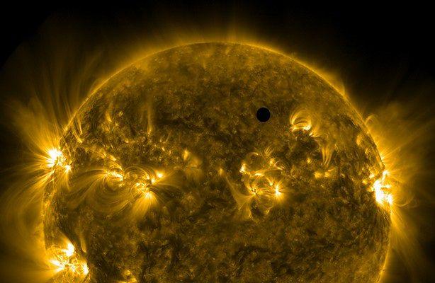Tranzyt Wenus - wspólne obserwacje nieba (fot.: vt2012.astronomia.pl)