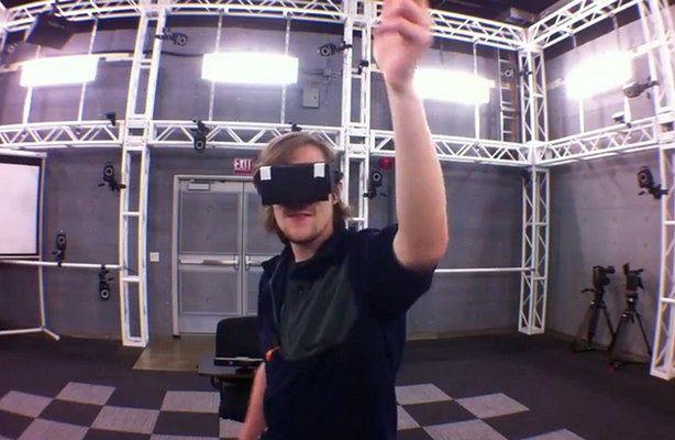 Gry w 3D to przeżytek! - domowy holodek jest znacznie lepszy (fot.: Project Holodeck)