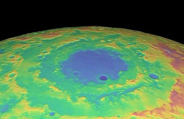Księżyc w HD na filmie NASA - Apollo 17 i ciemna strona Księżyca (fot.: NASA / Tour of the Moon)
