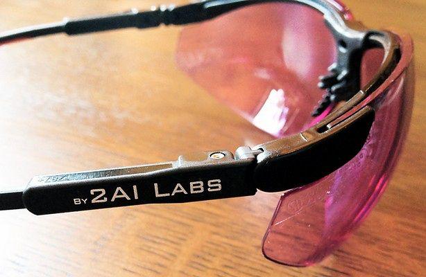 Okulary O2Amp pozwalają odczytywać emocje (fot.: designboom.com)