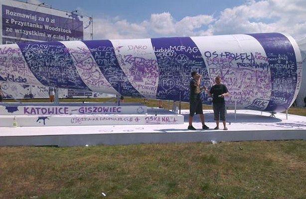 Przystanek Woodstock z darmowymi rozmowami i Internetem (fot.: Play)