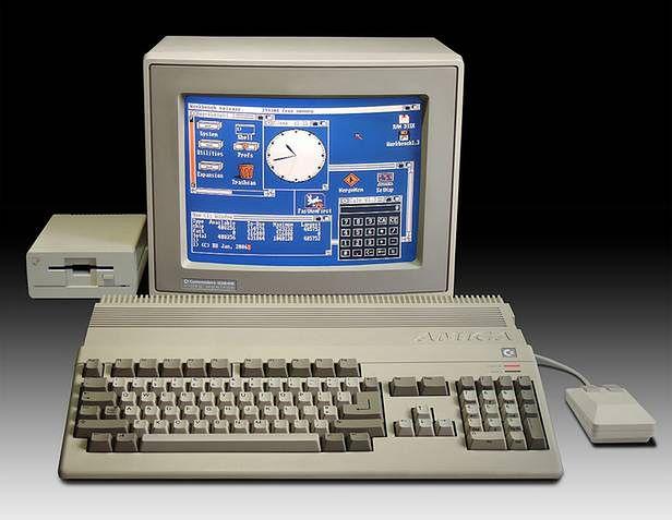 Commodore Amiga 500 (Fot. Wikimedia Commons)