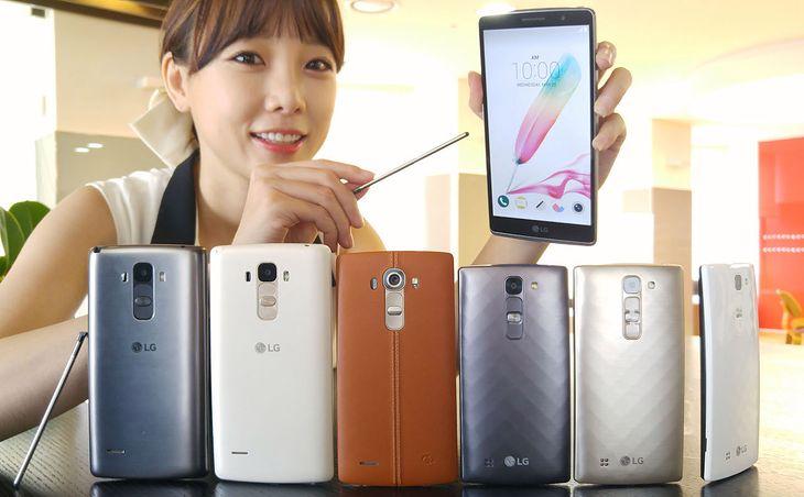 LG G4 i G4 Stylus