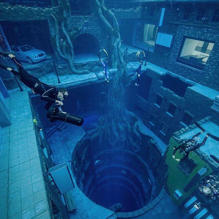 Najgłębszy basen świata