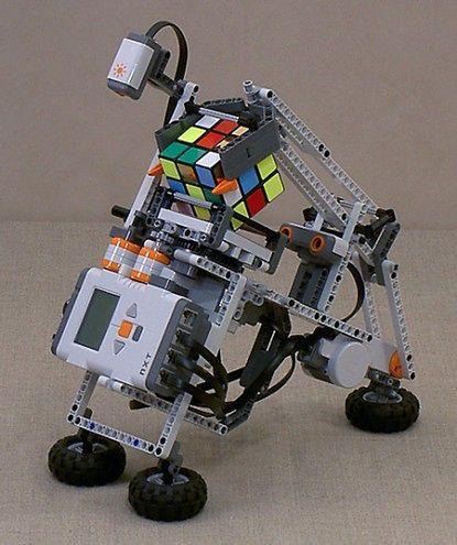 Robot Z Lego Układa Kostkę Rubika A Ja Nie Gadżetomaniapl