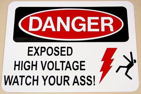 Niebezpieczeństwo (Fot. Flickr/oskay/Lic. CC by)