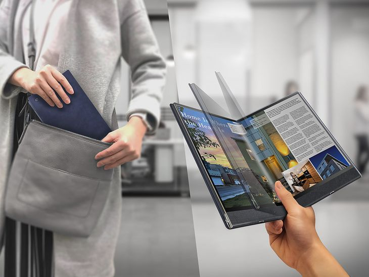 Compal Flex Book - tablet czy laptop? W zasadzie nowy typ urządzenia 2 w 1
