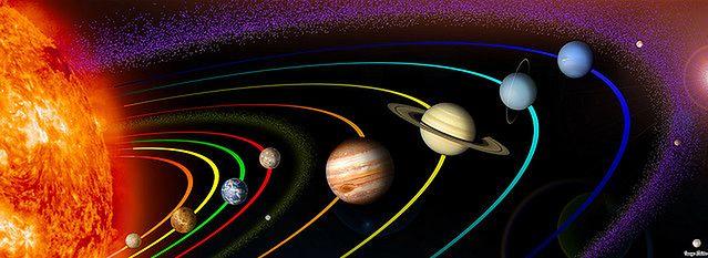 Układ Sloneczny/ fot. flickr. com by Image Editor
