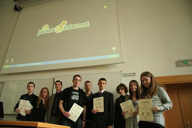 Laureacji Junior Internet 2009, fot. Cendo.pl