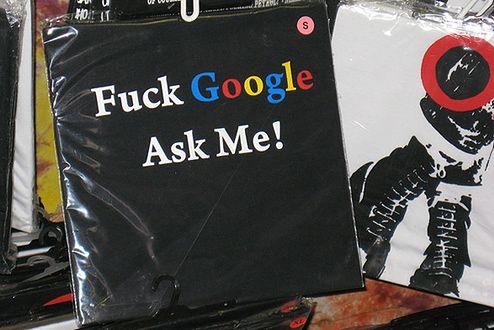 Fuck Google (Fot. Flickr/Cayetano/Lic. CC by-sa)