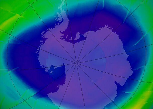 Dziura Ozonowa w 2009 roku (fot. flickr.com by NASA Goddard Photo and Video)