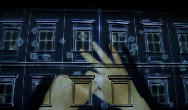 3D mapping  w Warszawie