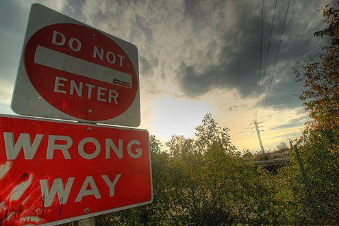 Zakaz wjazdu (Fot. Flickr/shayan (USA)/Lic. CC by)