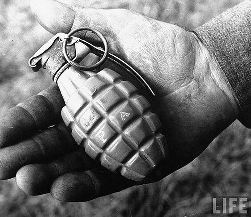 Granat ręczny/fot. Nevada Tumbleweed
