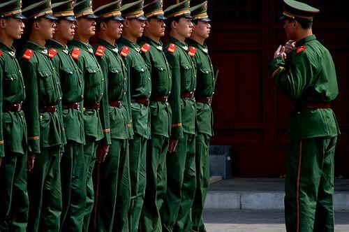 Chińscy żołnierze, fot. flickr.com by lafayette1 (na lic. CC)