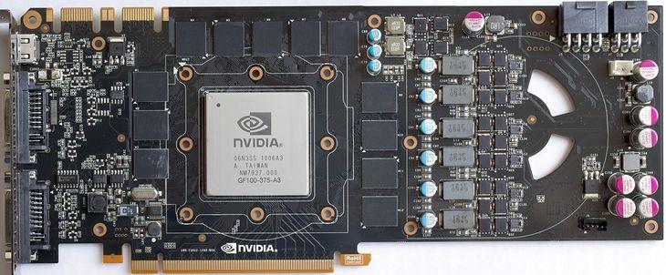 Najszybszy obecnie układ Nvidii - GeForce GTX480