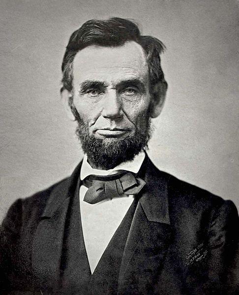 Portret Lincolna (Fot. Britannica/Wikipedia Commons)
