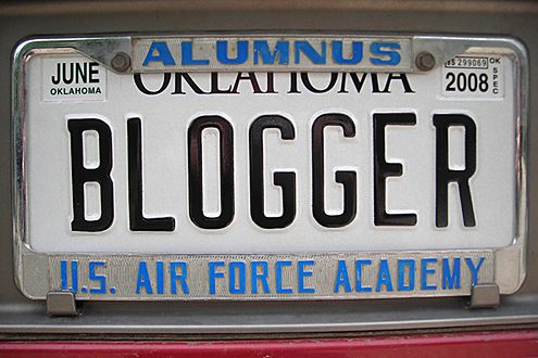 Bloger jedzie (Fot. Flickr/Wesley Fryer/Lic. CC by-sa)