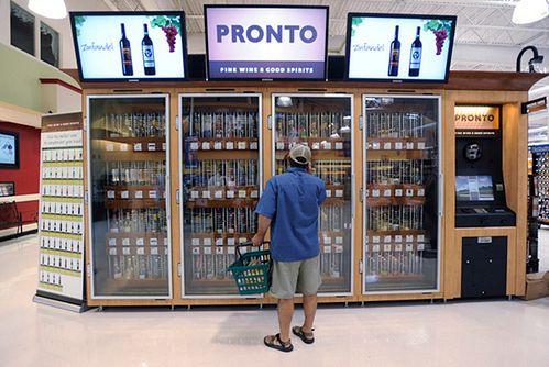 Automat z winem