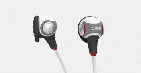 wibrujące słuchawki Ear Vibe