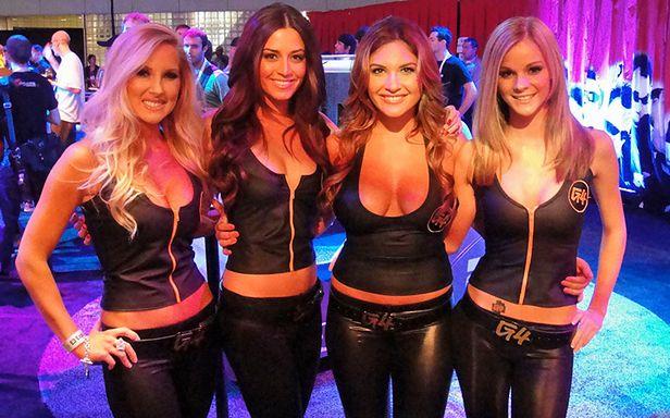 Dziewczyny na targach E3 (Fot. Flickr/Pop Culture Geek/Lic. CC by)