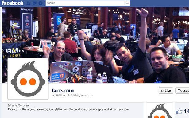 Face.com na Facebooku