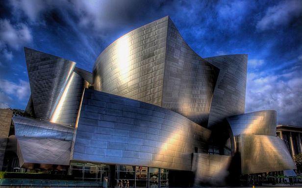 Futurystyczna hala koncertowa w LA powstała w 2003 roku (Fot. Flickr/ gtall1/Lic. CC by)