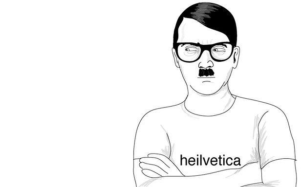 Hitler nie może być śmieszny? (Fot. Hipster Hitler)