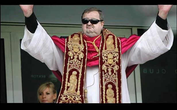 Zdzisław Kręcina na papieża?