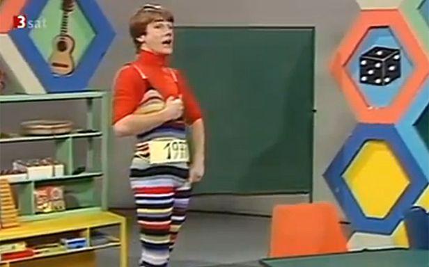 Młody Christoph Waltz w austriackiej telewizji (Fot. YouTube)