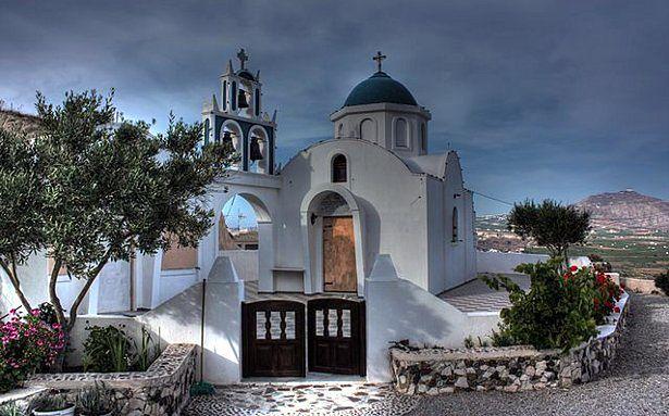 Czy Santorini niebawem zniknie z turystycznej mapy świata? (fot. Klearchos Kapoutsis CC-BY)