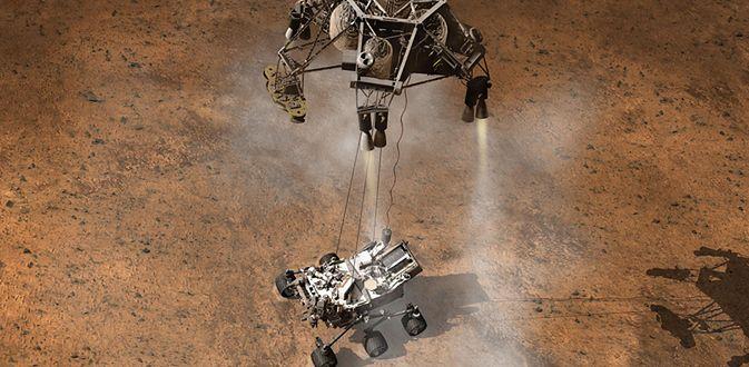Lądownik Curiosity (Fot. nasa.gov)