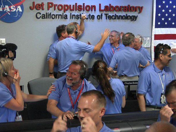 Radość! (Fot. NASA)