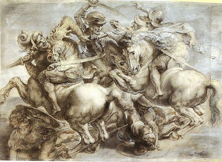 Bitwa pod Anghiari - kopia Rubensa