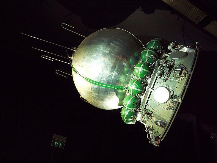 Replika statku Wostok 1, Musée de l'Air et de l'Espace w Paryżu (źródło: Wikimedia Commons)