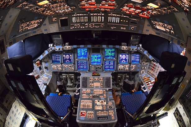 space shuttle interior 3d scan - photo #13