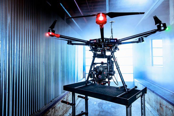 Jeden z modeli dronów DJI